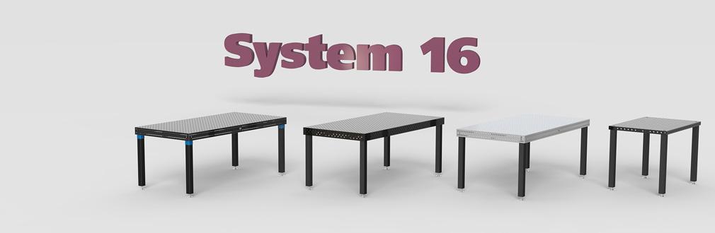 table soudure et bridage système 16 siegmund