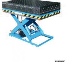 table élévatrice hydraulique avec plateforme1
