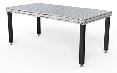 table de soudure inox systeme16 Siegmund