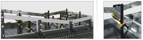 exemple utilisation embout de serrage sphérique