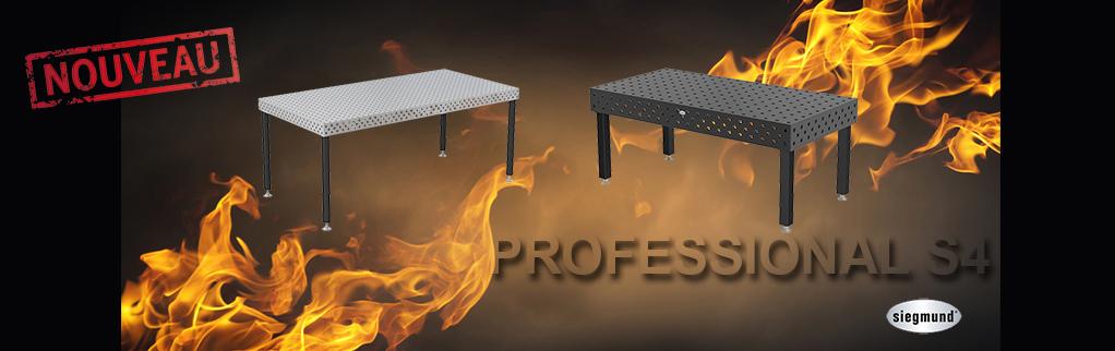 Nouvelles tables de soudure S4