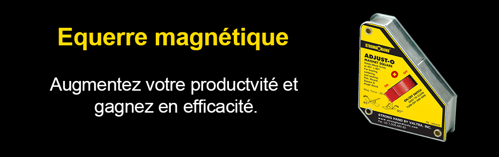 slide équerre magnétique