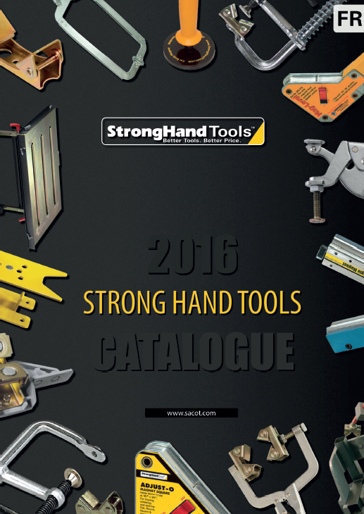 couverture flyer strong hand tools 2016