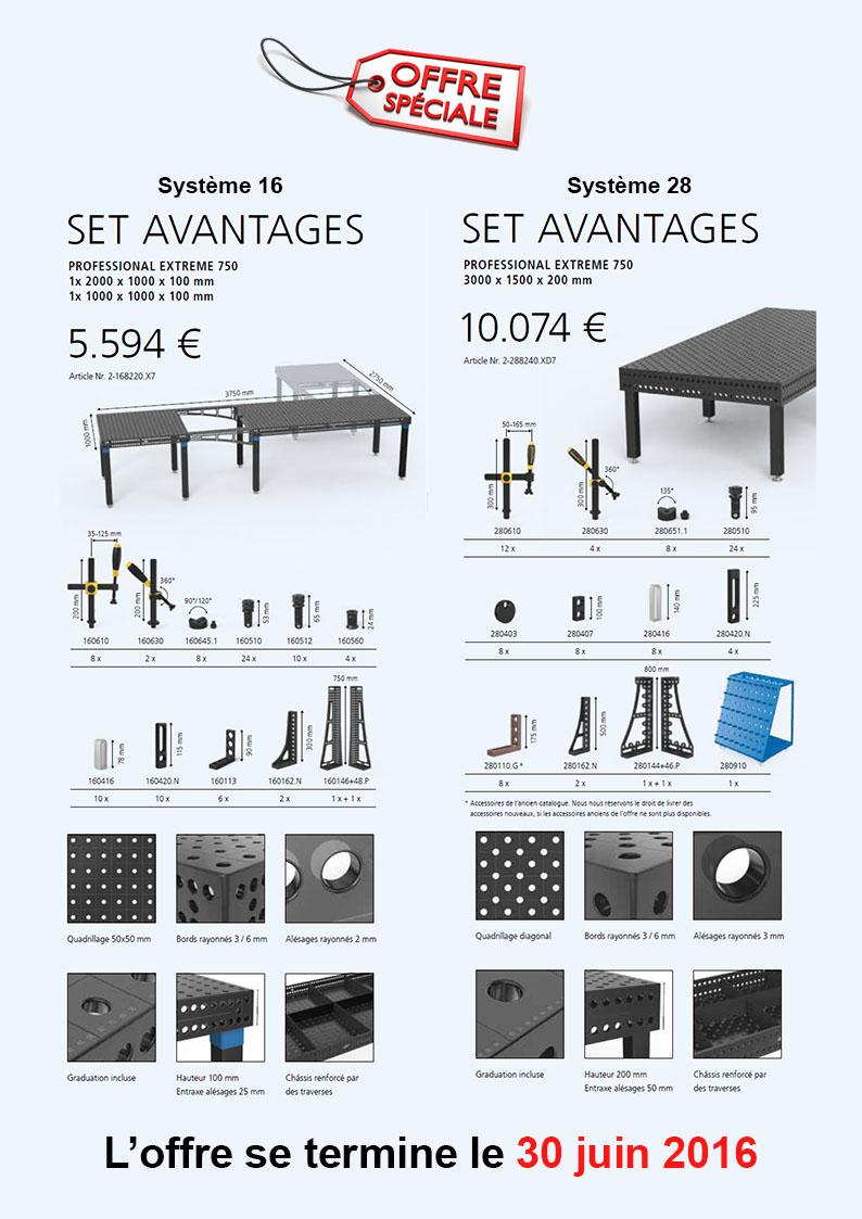 promo table de soudure et accessoires
